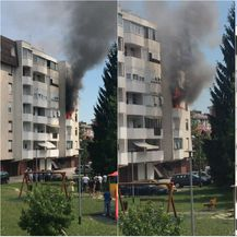 U zgradi u Stenjevcu eksplodirao plin (Foto: Čitateljica)