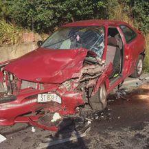 Prometna nesreća u blizini Sinja (Foto: Čitateljica)