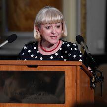 Vesna Bedeković na dodjeli nagrade Nikola Tesla (Foto: Marko Lukunic/PIXSELL)