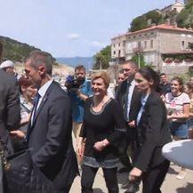 Predsjednica Kolinda Grabar-Kitarović u obilasku sjevernog Jadrana (Foto: Dnevnik.hr) - 2