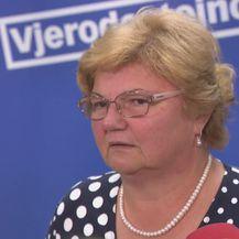 Izjava bivše ministrice Nade Murganić nakon što je smijenjena sa svoje pozicije (Video: Dnevnik.hr)