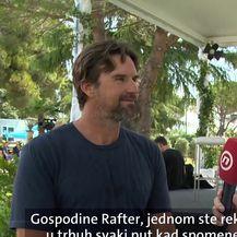 Patrick Rafter za Dnevnik Nove TV