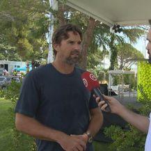 Patrick Rafter za Dnevnik Nove TV (Foto: GOL.hr)