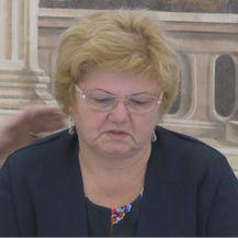 Nada Murganić rasplakala se na sjednici Vlade, tješio je ministar Kujudžić (Foto: Dnevnik.hr)