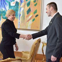 Predsjednica Kolinda Grabar-Kitarović i gradonačelnik Vukovara Ivan Penava (Foto: Ured predsjednice) - 3