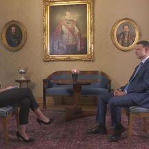 Sabina Tandara Knezović i predsjednik Sabora Gordan Jandroković (Foto: Dnevnik.hr)
