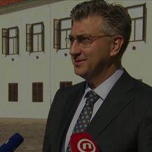 Premijer Plenković šetao od odbora do odbora (Video: Dnevnik Nove TV)