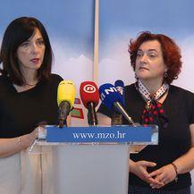 Blaženka Divjak, ministrica znanosti i obrazovanja, i njezina pomoćnica Lidija Kralj (Foto: Dnevnik.hr)