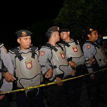 Policija, Indonezija, Ilustracija (Foto: SONNY TUMBELAKA / AFP)