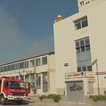 Požar u skladištu Slobodne Dalmacije u Splitu (Foto: Dnevnik.hr)