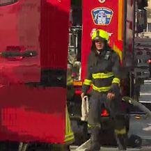 U skladištu Slobodne Dalmacije dogodio se požar (Video: Dnevnik Nova TV)