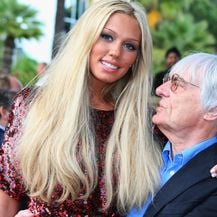 Petra i Bernie Ecclestone (Foto: Getty Images)