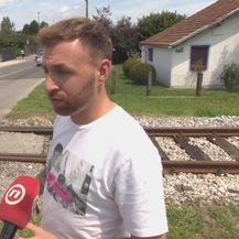 Žrtva željezničke nesreće Saša Maček (Foto: Dnevnik.hr)