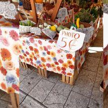 Naplaćivanje fotografiranja štanda (Foto: Dnevnik.hr)