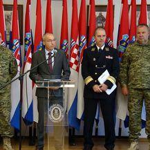 MORH sazvao izvanrednu konferenciju za medije nakon stradavanja hrvatskih vojnika u Afganistanu (Foto: Dnevnik.hr) - 3
