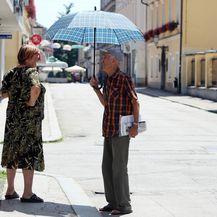 Visoke ljetne temperature u Karlovcu (Foto: Kristina Stedul Fabac/PIXSELL) - 1