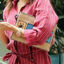 Eva Longoria nosi torbicu torbicu od jute