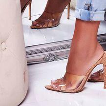Sandale bež boje vizualno produžuju noge
