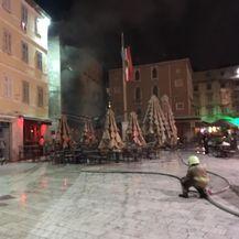 Gori ugostiteljski objekt u Splitu (Foto: Dnevnik.hr)