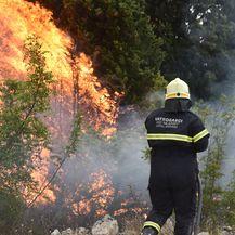 Požar kod Šibenika (Foto: Hrvoje Jelavić/Pixsell) - 11