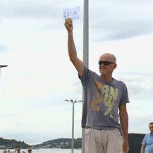 Muškarac na Korčuli dovikivao Andreju Plenkoviću (Foto: Dnevnik.hr)