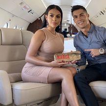 Georgina Rodriguez i Christiano Ronaldo (Foto: Instagram)