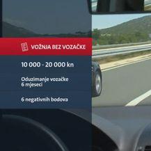 Kazna za vožnju bez vozačke dozvole (Foto: Dnevnik.hr)