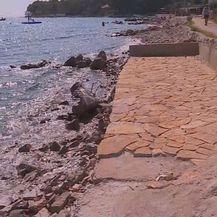 Betonizirana obala na Hvaru (Foto: Dnevnik.hr)