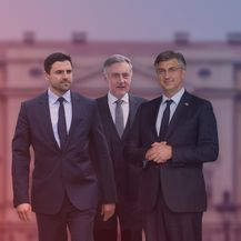 Parlamentarni izbori 2020_Davor Bernardić, Miroslav Škoro, Andrej Plenković
