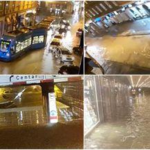 Poplave na ulicama Zagreba