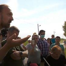 Sukob Trnjana s predstavnikom Hrvatskih voda - 2
