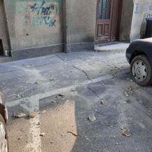 Šteta na automobilu u ulici Prilaz Djure Đeželića - 2