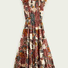 Scotch & Soda ljetna duga haljina s morskim uzorkom