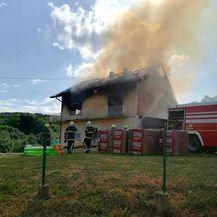 Požar u Planini Donjoj u Zagrebu - 2