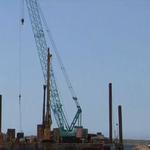 Gradilište pristaništa na Kaprijama - 2
