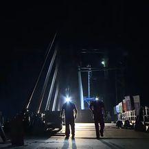 Treća smjena na Pelješkom mostu - 1