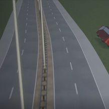 Prikaz prometne nesreće na autocesti - 2