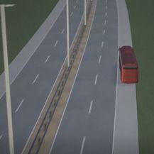 Prikaz prometne nesreće na autocesti - 3