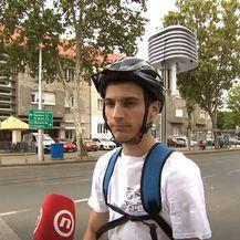 Matej Žgela, student PMF-a