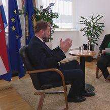 Ministar obrane Mario Banožić i Ivana Pezo Moskaljov - 1
