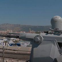Američki ratni brod u Splitu - 1