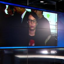 Petra Fabian Kapo uživo u Burićevom stožeru (Video: Specijal Nove TV)