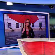 Martina Bolšec Oblak uživo iz Varaždina komentira izbore (Video: Dnevnik Nove TV)