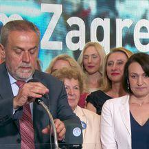Izjava Milana Bandića nakon dobivenih izbora (Video: Dnevnik Nove TV)