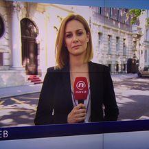 Ivana Brkić Tomljenović uživo ispred Ministarstva vanjskih poslova (Video: Vijesti u 17h)