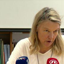 Vesna Teršelić o ratnim zločincima (Video: Dnevnik Nove TV)