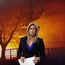 Požar u Tučepima (Video: Vijesti u 17h)