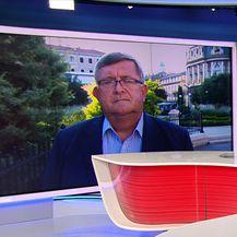 Gost Dnevnika Vojko Obersnel (Video: Dnevnik Nove TV)