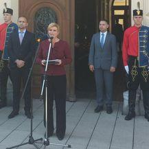 Predsjednica u Osijeku kritizirala Vladu (Foto: dnevnik.hr)