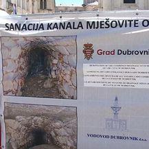 Zapelo čišćenje kanalizacije ispod Straduna (Foto: Dnevnik.hr) - 1